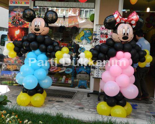 Miki-Mini Mouse Balon Konsepti