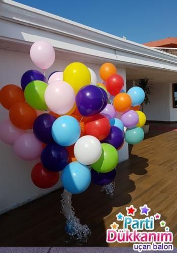 ucan-balon-buketi-karisik