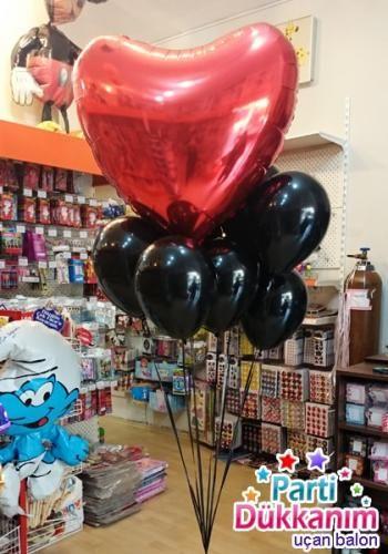 ucan-balon-demeti-kalp-folyo-siyah